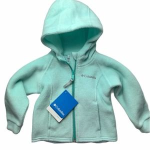 NWT COLUMBIA Hooded Zip Up Jacket - 12 Months